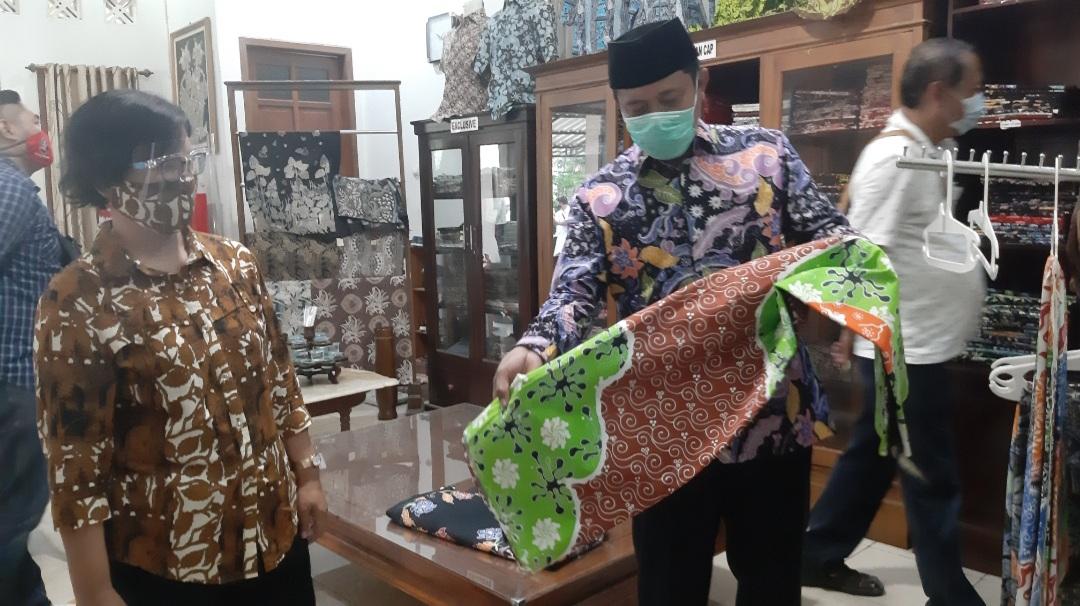 Geliat Sentra Batik Ngawi di Tengah Pandemi Covid 19