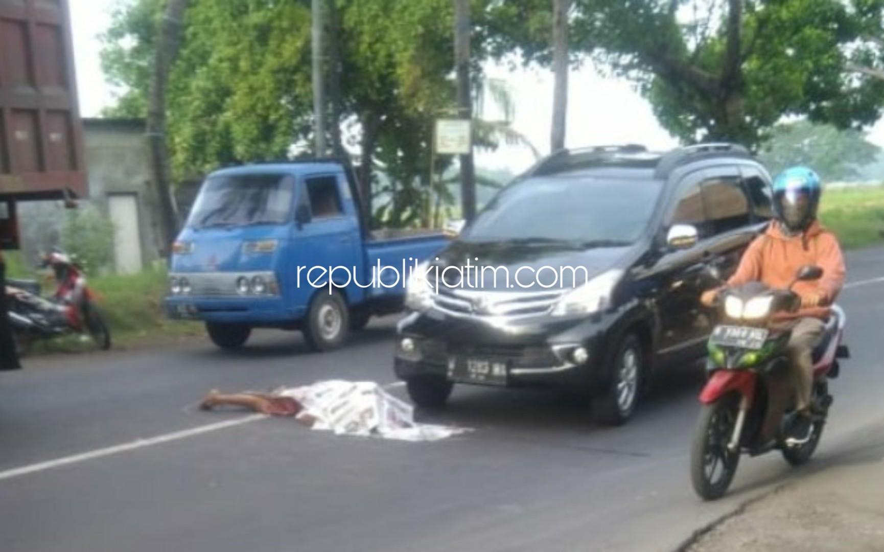 Mendahului Mobil Avanza, Ibu Rumah Tangga Tewas di JL Raya Krembung Usai Ditabrak Truk