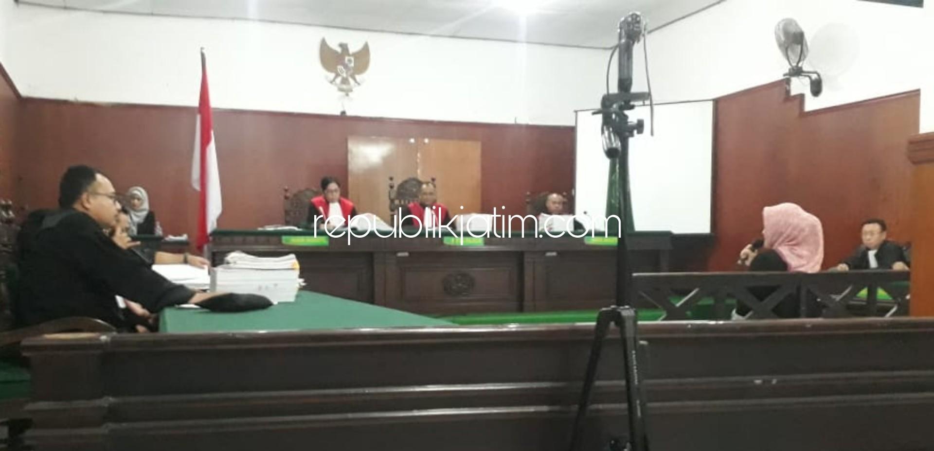 Sidang Penyerobotan Lahan Puskopkar Jatim, Terdakwa Umi Chalsum Akui Tanda Tangani Petikan Akta 2008