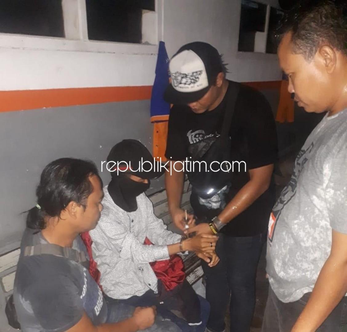 Arek Sidoarjo Penganiaya Kekasih di Konter Diringkus di Jakarta