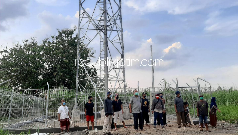 LIRA Sidoarjo Menduga Pembangunan Tower Seluler di Kedungbocok Tarik Belum Mengantongi Perizinan