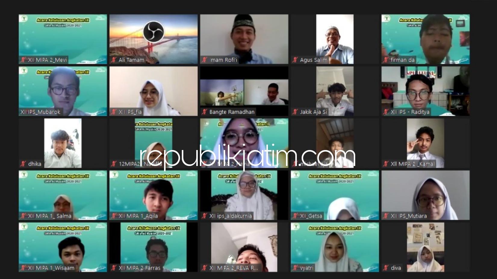 Lulus Memuaskan, Siswa Siswi SMA Al Muslim Bantu Kedua Orang tua, Bikin Video Perjalanan 3 Tahun di Sekolah