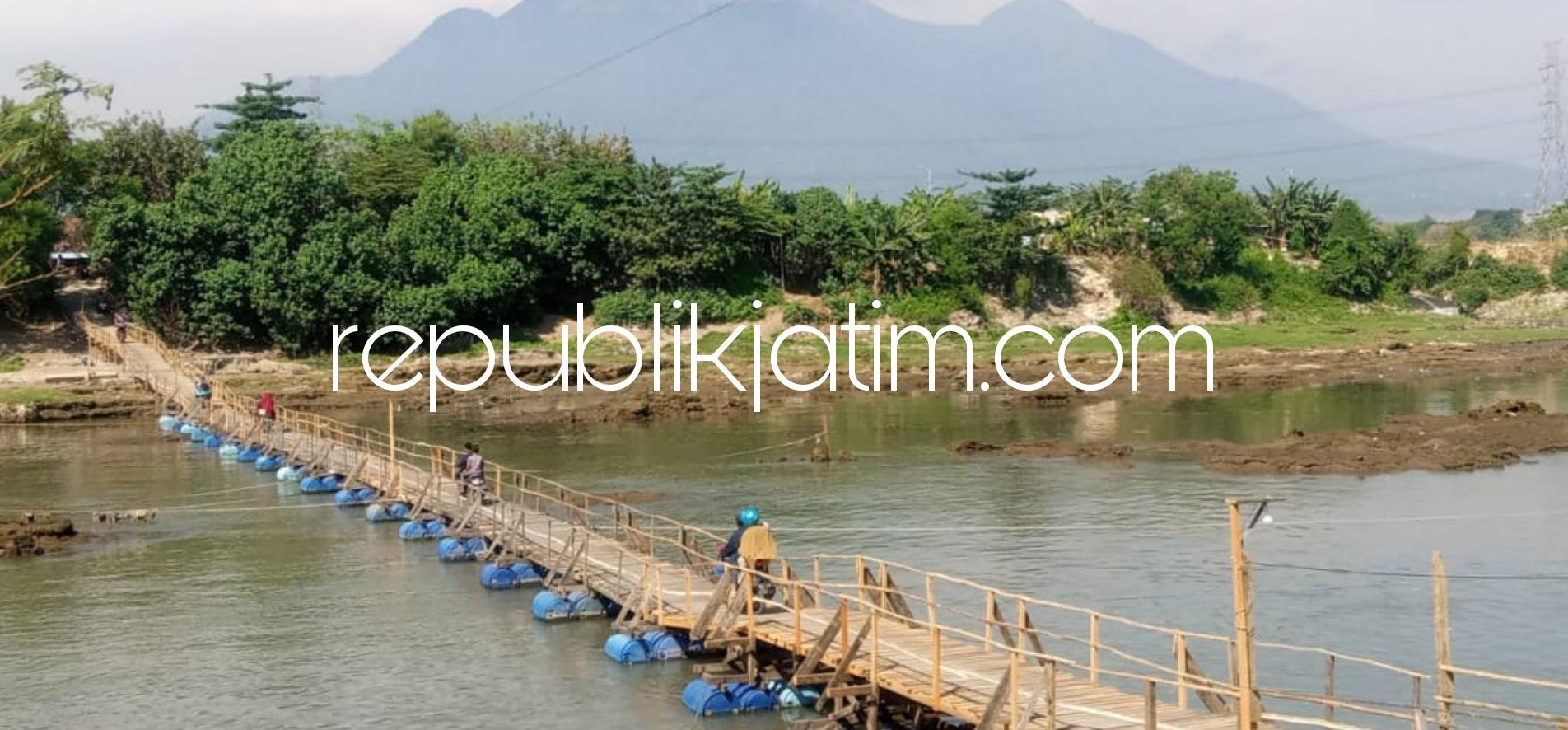 Jembatan Sutam Jalur Alternatif Pemudik Sidoarjo - Mojokerto Bertarif Rp 2.000 Jadi Arena Selfie
