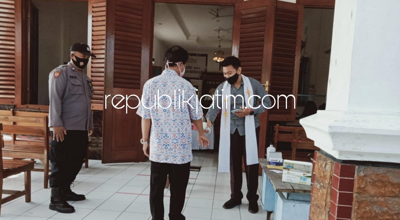 Polresta Sidoarjo Beri Pelayanan Prima Pengamanan di Gereja Sidoarjo