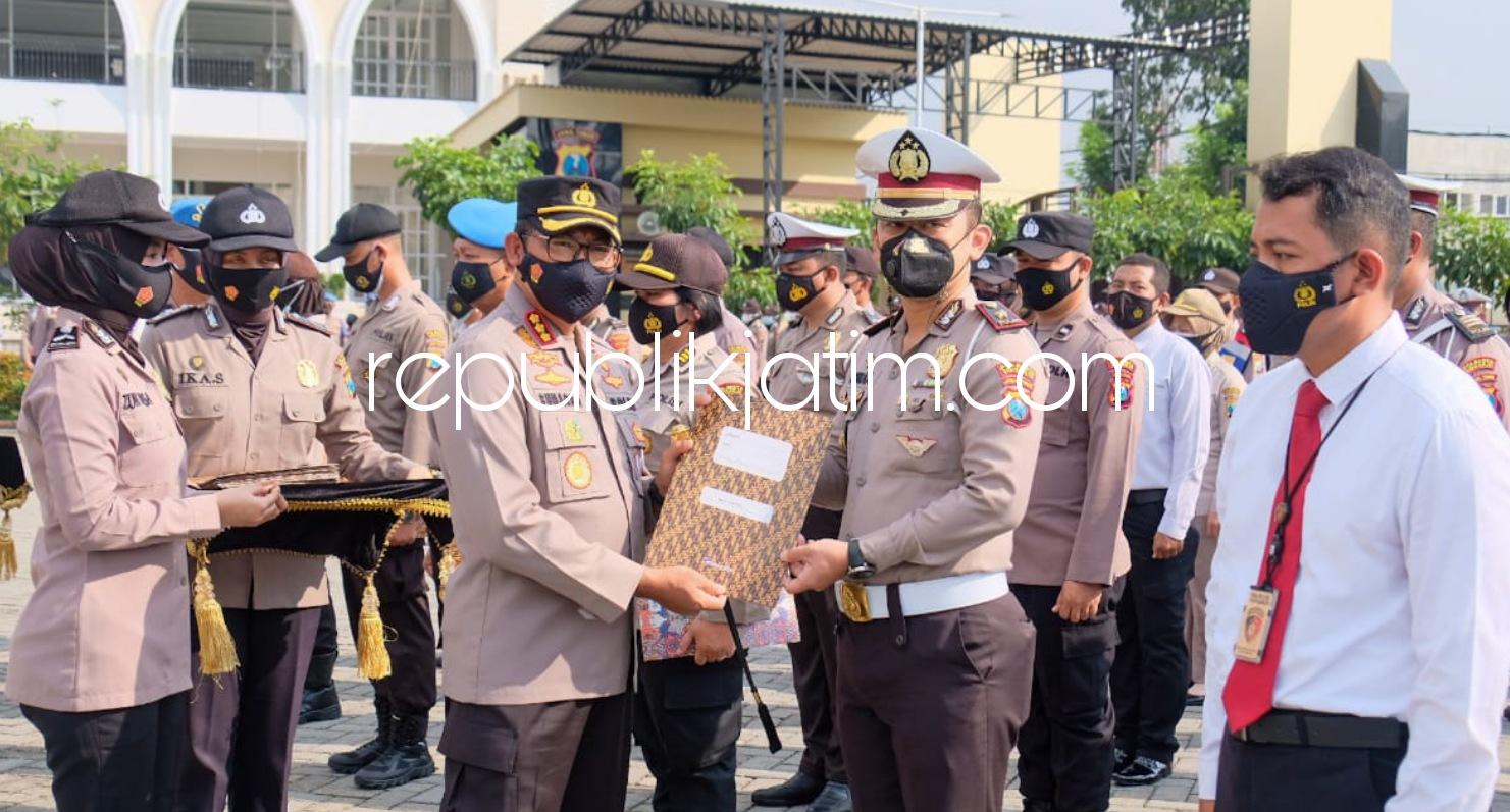 Kapolresta Sidoarjo Apresiasi Prestasi Personel dan Warga Sipil Saksi Pengeroyokan Anggota TNI