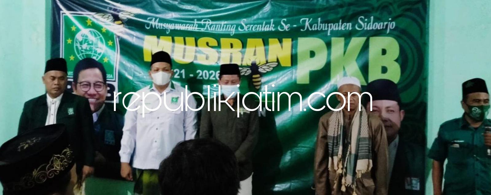 Subandi : Pengurus Partai PKB Sidoarjo Harus Jaga Harmonisasi Dengan Warga NU