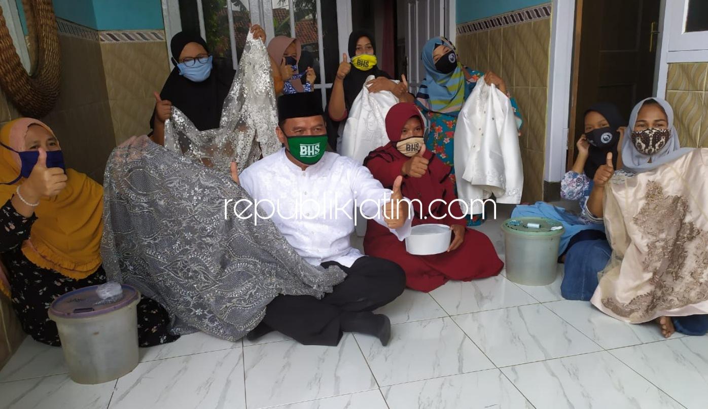Beromzet 30 Persen, BHS Dorong Bank Penyalur KUR Bantu Permodalan Kampung Pemasangan Payet Pagerwojo
