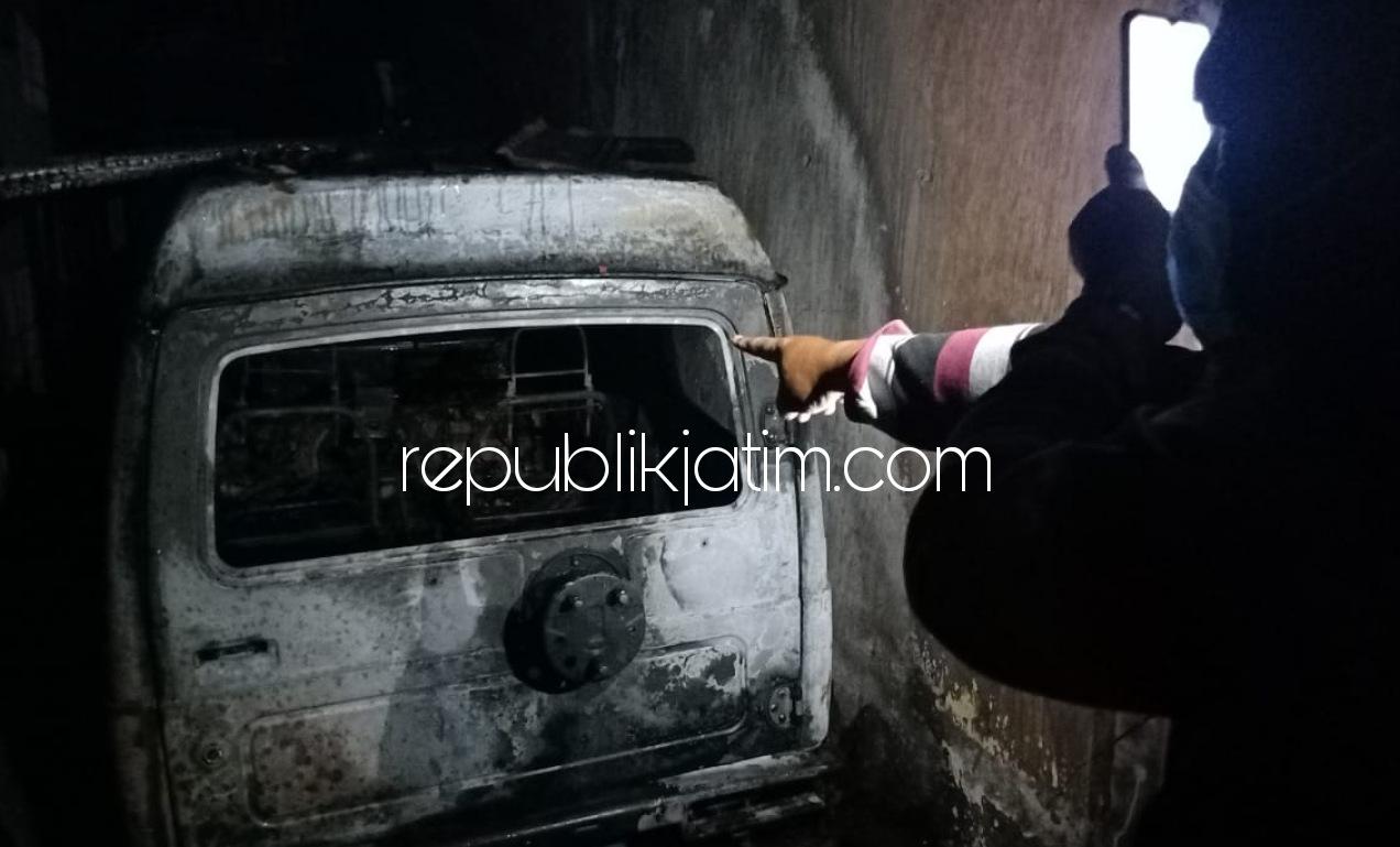Hendak Tasyakuran, Rumah, Mobil dan Motor Warga Jabon Ludes Terbakar