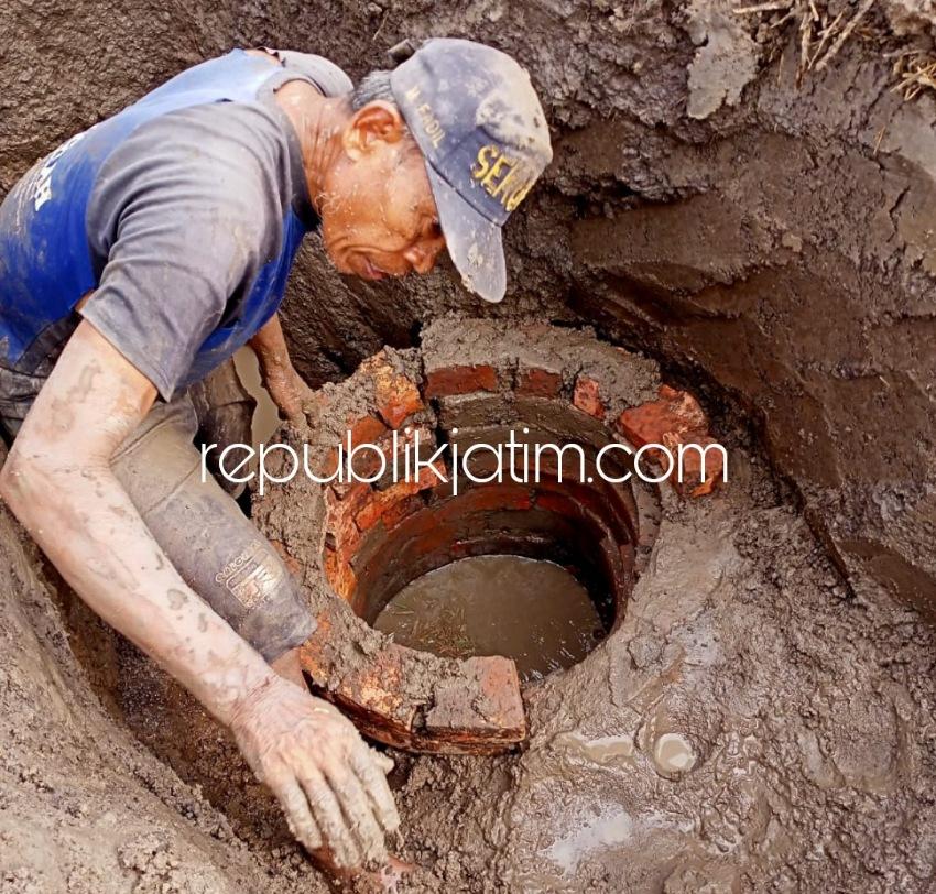 Usai Menemukan Uang Koin Satu Karung, Kini Warga Kedungkembar Prambon Temukan Sumur Kuno