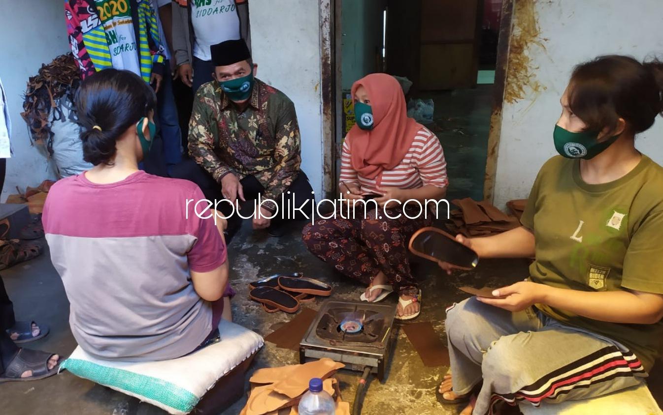 BHS-Taufiqulbar Siap Kembangkan Kampung Sepatu-Sandal Kemasan Krian