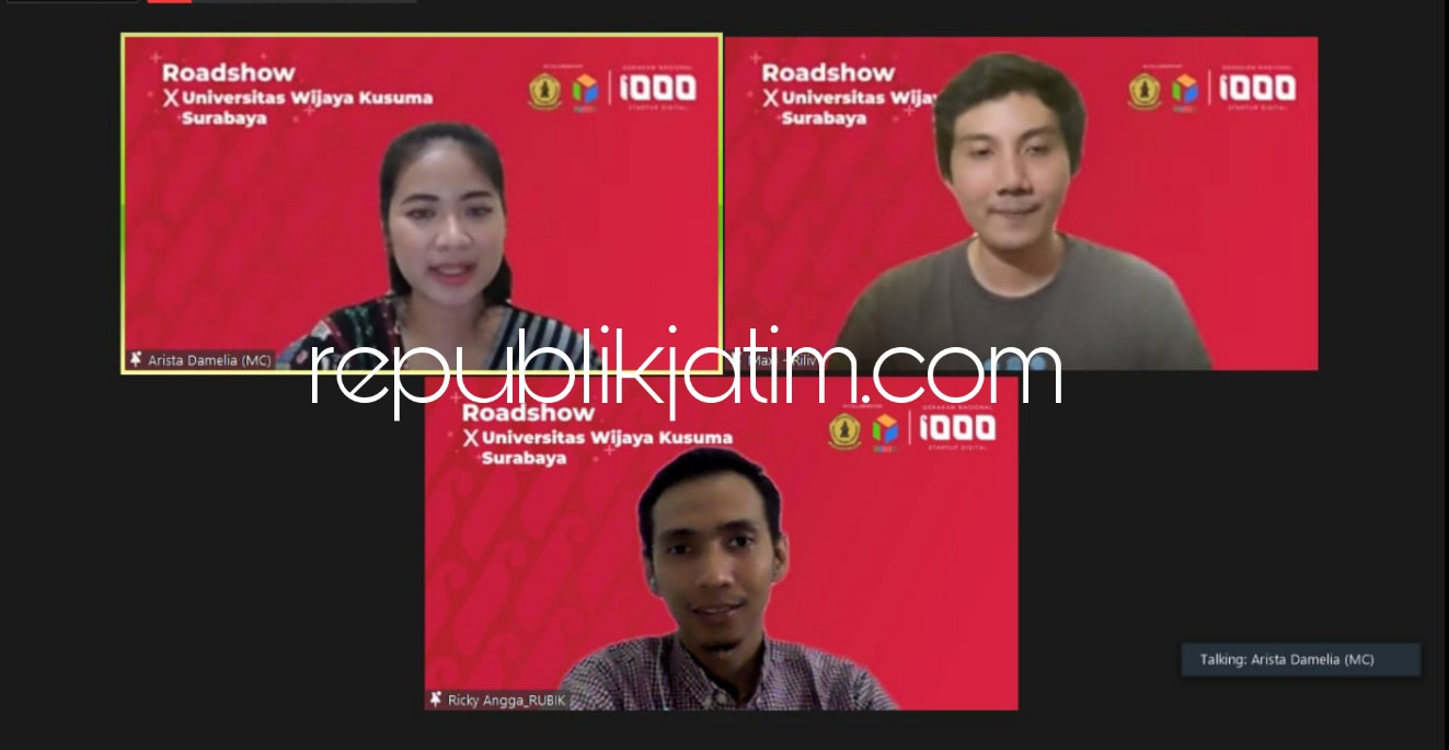 Kolaborasi UWKS dan Kemenkominfo Berkomitmen Ciptakan The Next Startup Founder