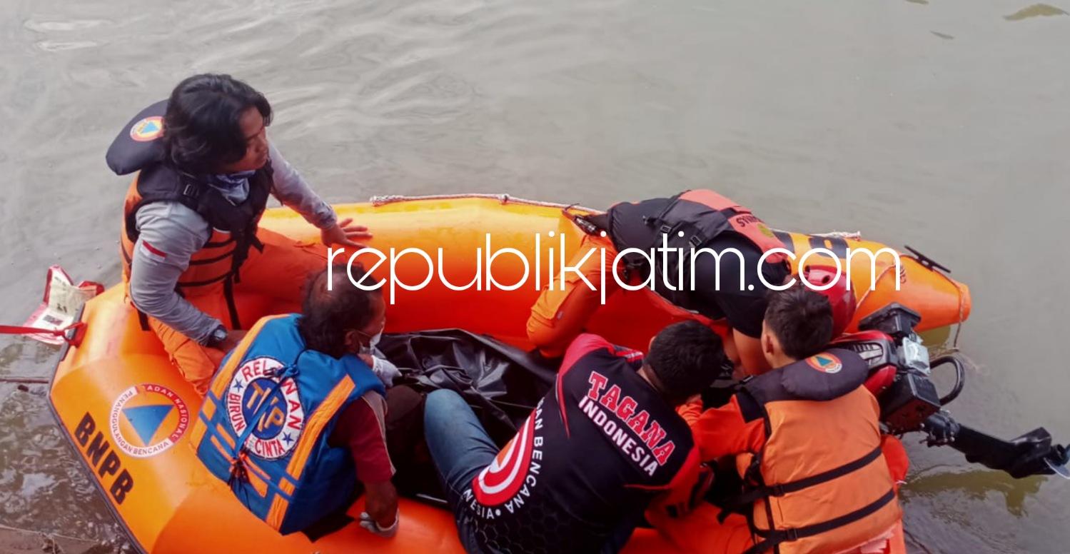 Mengapung Sendiri, Pria Tenggelam di Sungai Prambon Ditemukan 2 Meter dari Lokasi Tenggelam