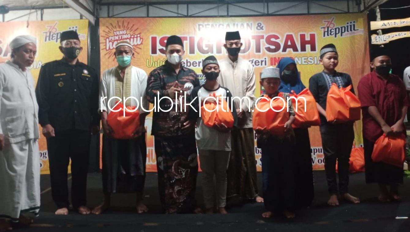 Warga Semampir Krian Peringati 1 Tahun Pendirian Kampung Tangguh dengan Doa dan Istigotsah Bersama