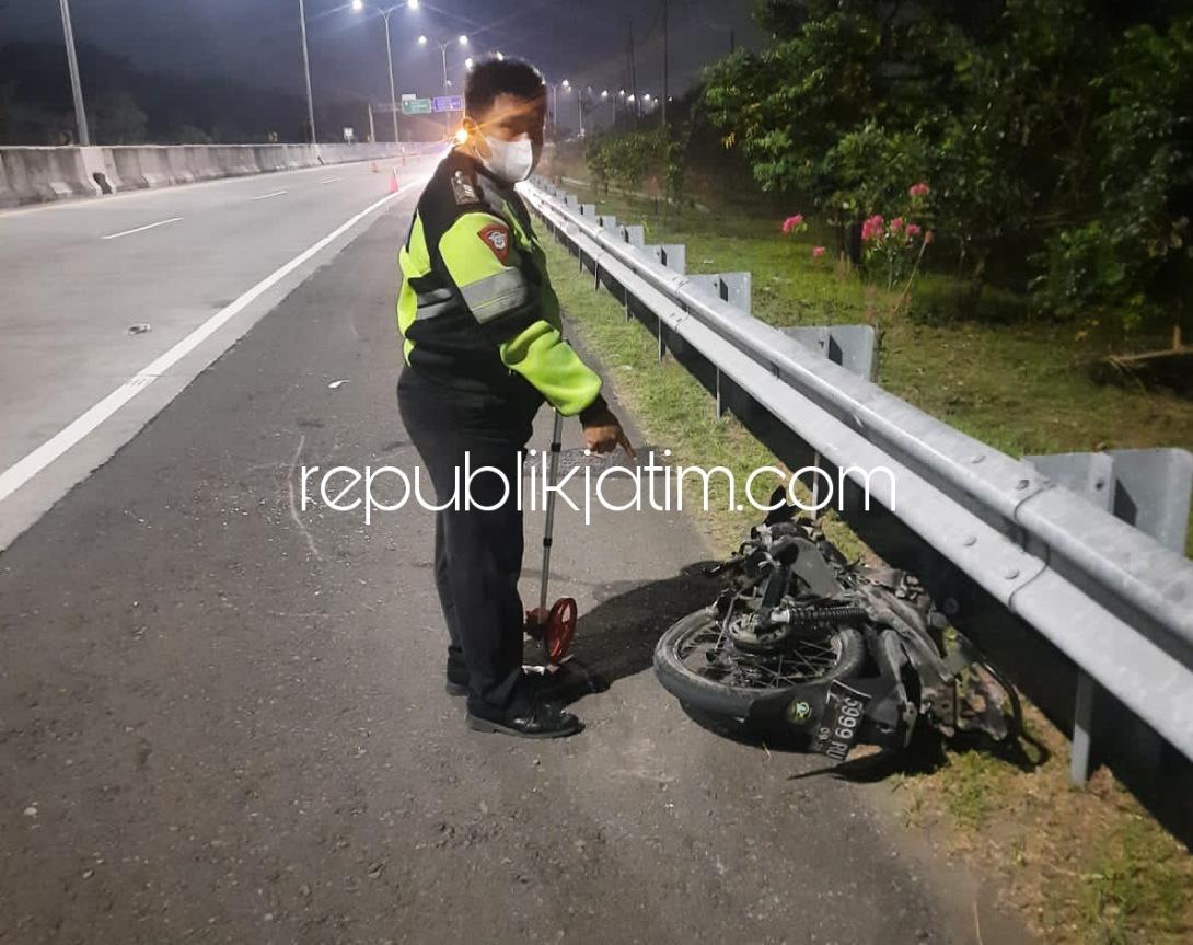Identitas Dua Pengendara Motor Korban Lawan Arus Tertabrak Bus di Tol Surabaya - Mojokerto Diketahui Warga Bangkalan