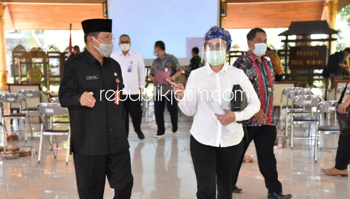 Pj Bupati Sidoarjo Yakinkan Anggota DPR RI dan FKKD Sidoarjo Siap Menuju Zona Kuning