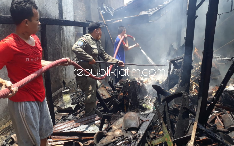Lupa Matikan Api Usai Merebus Air, Rumah Warga Ponorogo Ludes Terbakar