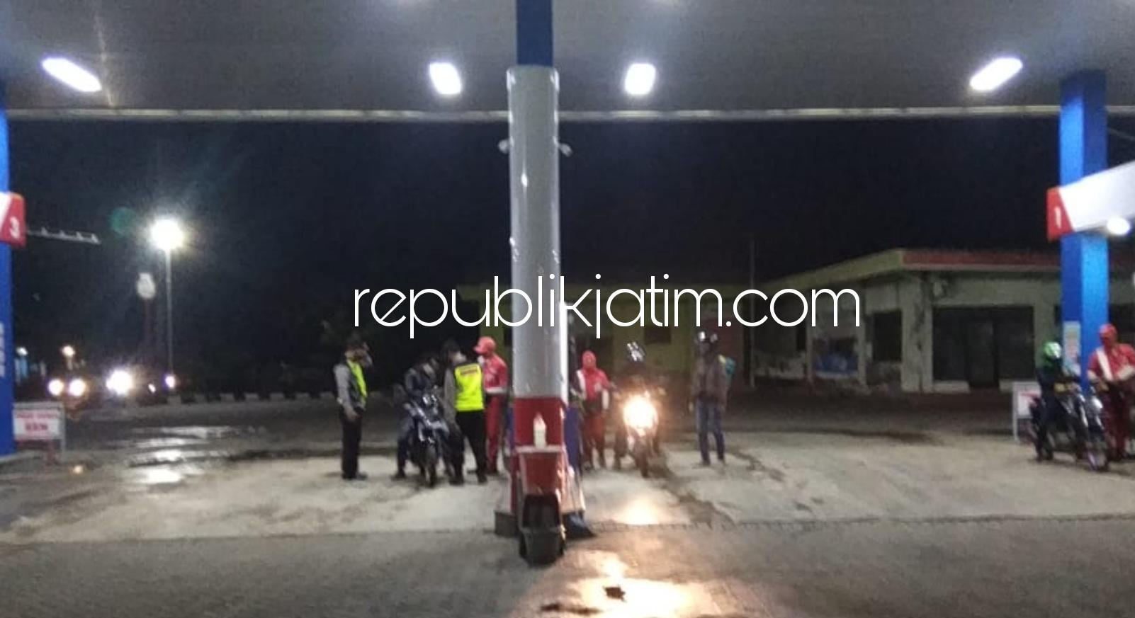 Polsek Mlarak Patroli Keliling Seluruh Wilayah Desa, Sekaligus Menghimbau Warga Terapkan Protokol Kesehatan