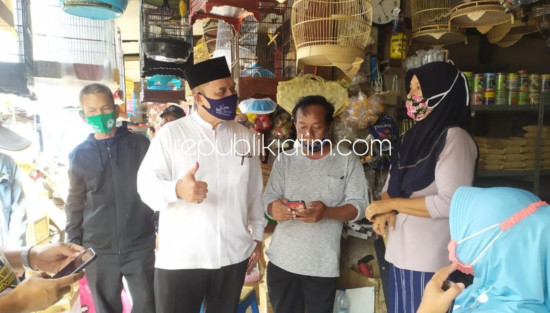 BHS - Taufiq Siap Jadikan Pasar Burung Sebagai Tempat Rekreasi dan Perbaiki Fasumnya