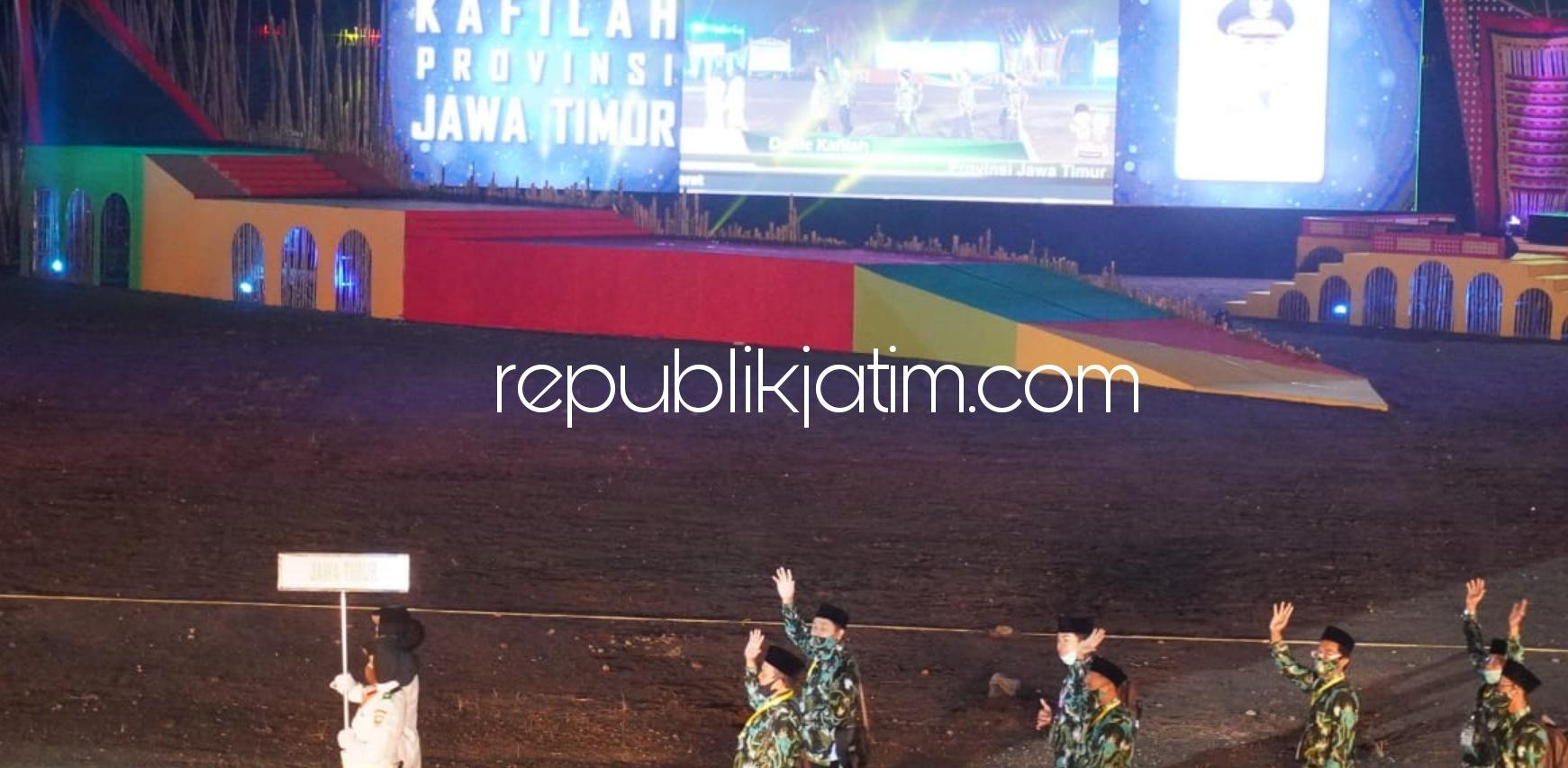 Kafilah Sidoarjo Optimis Dongkrak Jatim Juara Umum MTQN ke 28 di Padang