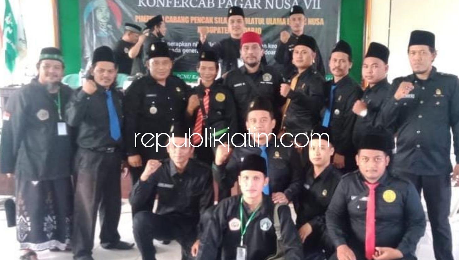 Hari Purwono Terpilih Jadi Ketua Pagar Nusa Sidoarjo