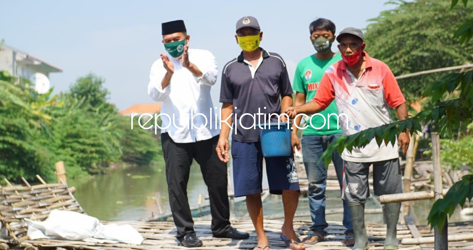 BHS - Taufiq Prioritaskan Pengembangan Budidaya Perikanan di Sidoarjo