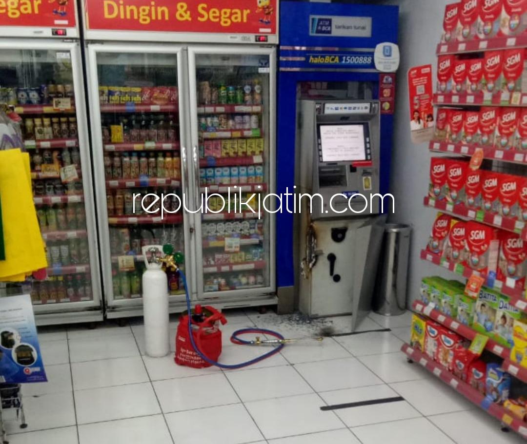 Hendak Bobol ATM BCA di Alfamart Trosobo, Spesialis Asal Sedati Diringkus Karena Kesiangan dan Ditinggal Teman