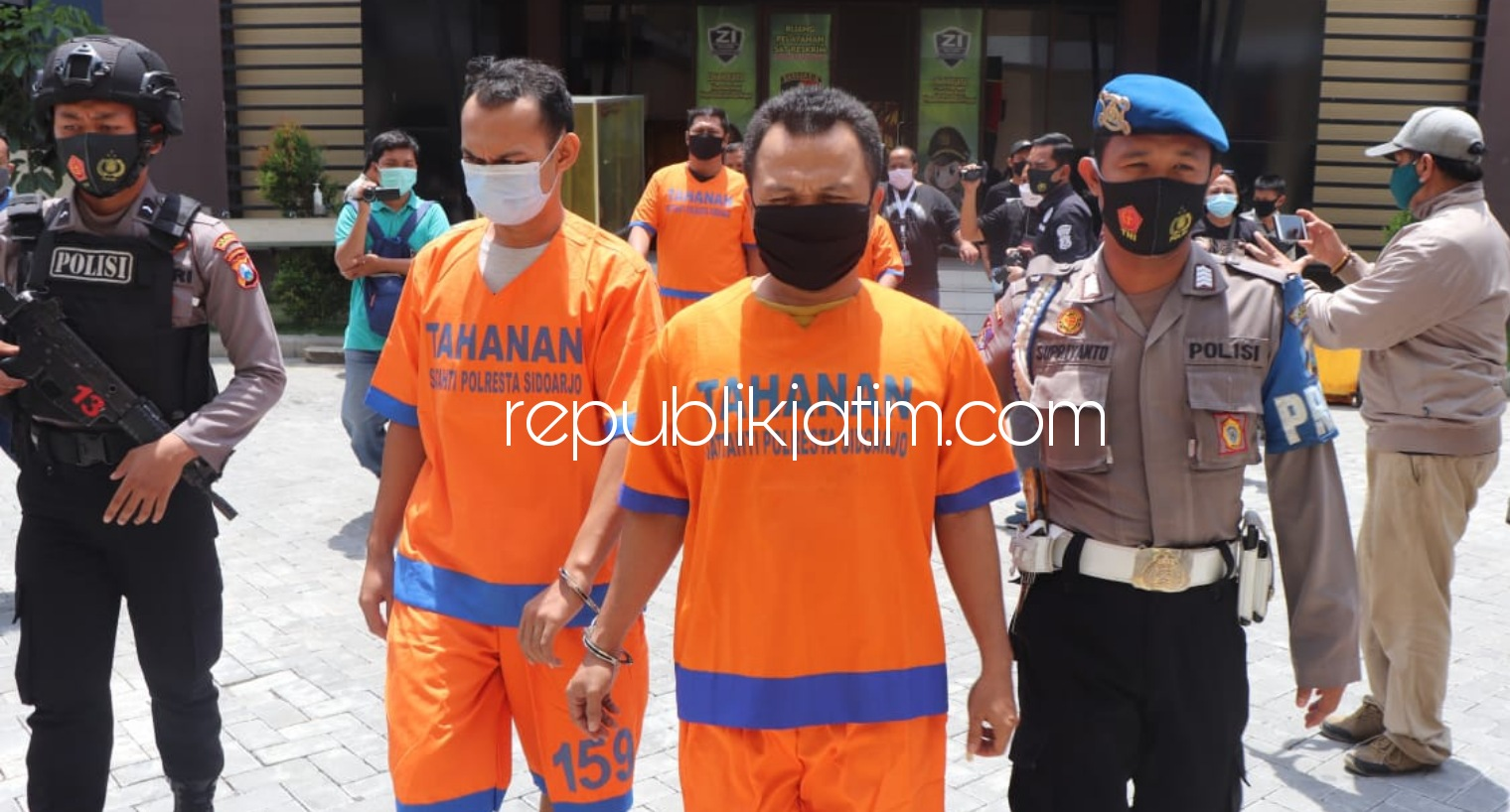 Ambil Paksa Mobil Sitaan Disertai Acaman, 4 Pemuda Gresik dan Surabaya Diringkus, 3 Lainnya Buron