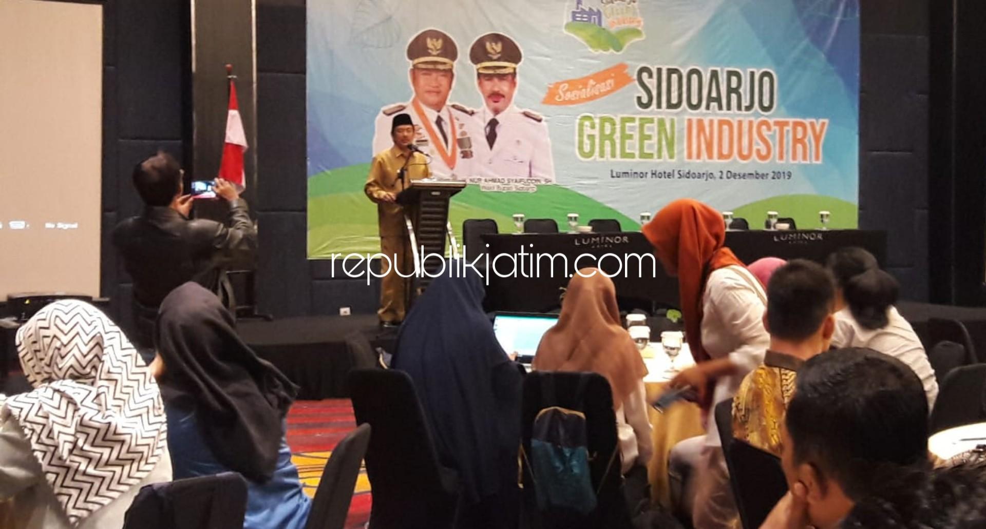 Wabup Minta Perusahan di Sidoarjo Jaga Keseimbangan Lingkungan
