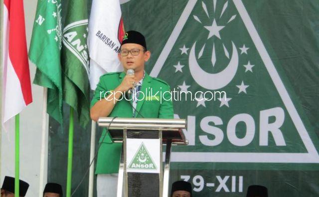 PW Ansor Jatim Apresiasi Langkah Gus Muhdlor - Subandi Tunda Pembangunan Gedung Terpadu 8 Lantai