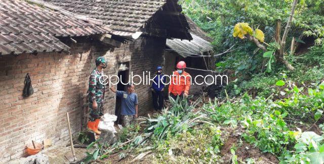Longsor di Ponorogo, Tebing 10 Meter Timbun Rumah Warga Pulung