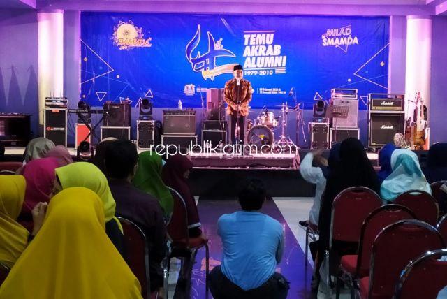 Taufiqulbar Minta Doa Restu dan Dukungan Ribuan Alumni Smamda Sidoarjo
