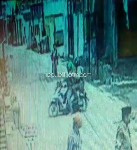 Rumah Kos-Kosan di Sawotratap Gedangan Dibobol Pencuri Berjaket Ojol