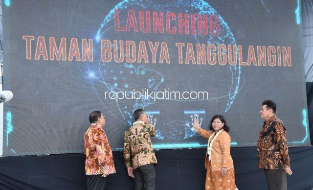 Taman Budaya dan Monumen Instalasi IKM Tanggulangin Jadi Ikon Sidoarjo