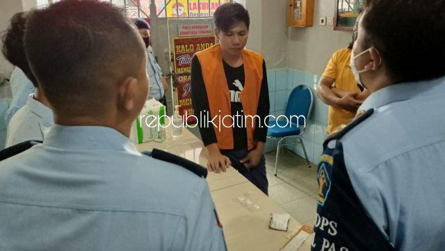 Petugas Gagalkan Lagi Penyelundupan Sabu-Sabu Diselipkan Kulit Kardus Ke Rutan Ponorogo
