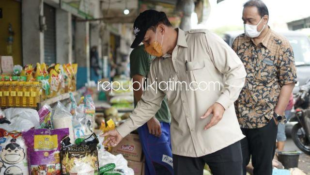 Jelang Lebaran, BHS Prihatin Beras Petani Sidoarjo di Pasar Tradisional Kalah Bersaing dari Daerah Lain