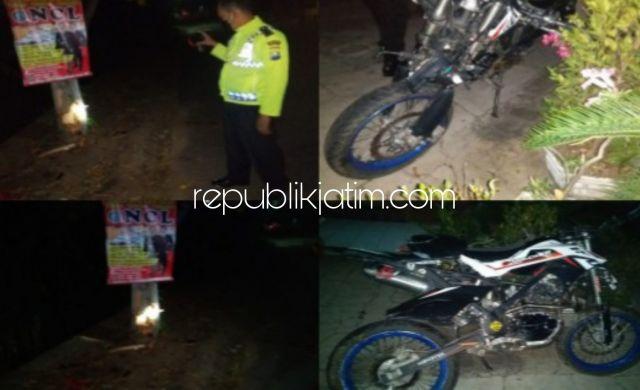 Motor Selib Tabrak Pohon, Pengendara KLX Di Ponorogo Tewas di Rumah Sakit