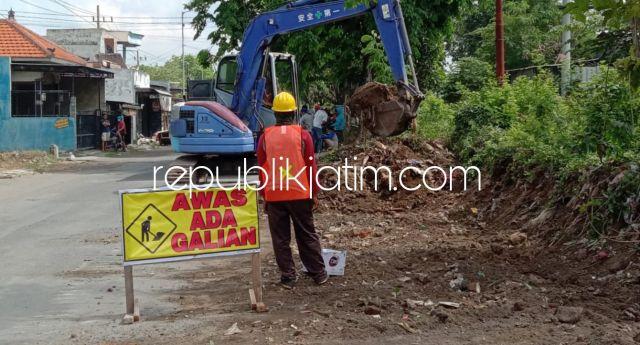 Proyek Betonisasi JL Raya Becirongengor Wonoayu Senilai Rp 8,6 Miliar Dikerjakan Rekanan asal Tuban