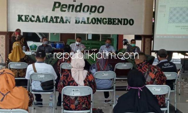 Dirawat di Rumah Sakit, J Bachtiar Sihaloho Terpilih Sebagai Ketua FKBPD Balongbendo