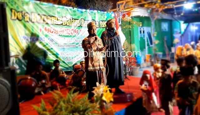 Rayakan Tahun Baru Islam 1442 Hijriyah, Warga Penambangan Gelar Tasyakuran dan Doa Bersama