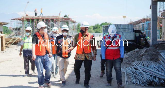 Pantau Proyek RSUD Barat, BHS Dorong Penambahan Pembangunan RSUD di Wilayah Pinggiran Sidoarjo