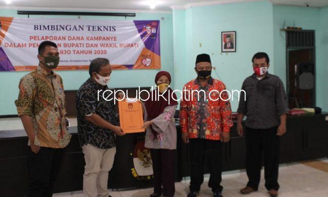 Hari Ini KPU Sidoarjo Resmi Hanya Tetapkan Paslon BHS - Taufiq dan Gus Muhdlor - Subandi