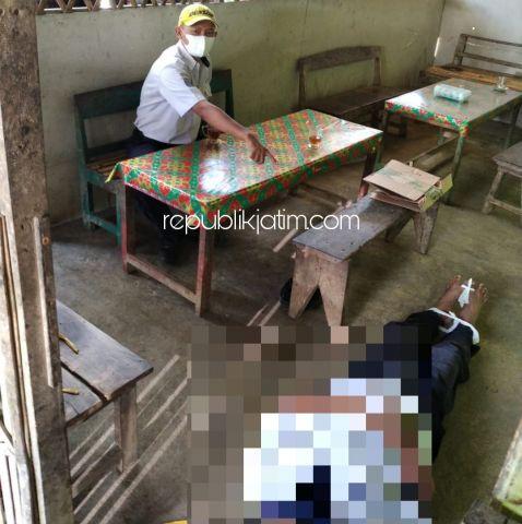 Serangan Jantung, Sopir Bus Damri Meninggal Di Warung Sooko Ponorogo