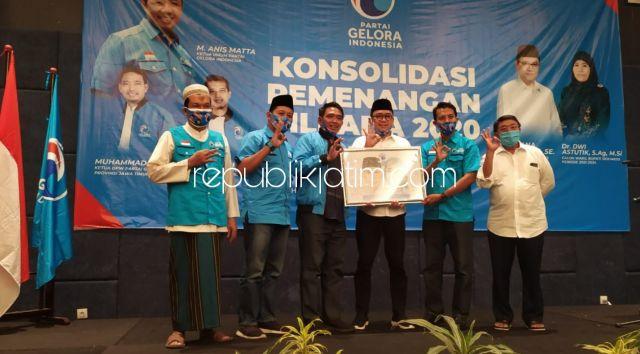 Target Raih 55,6 Persen Suara, Partai Gelora Sidoarjo All Out Menangkan Pasangan Berkelas