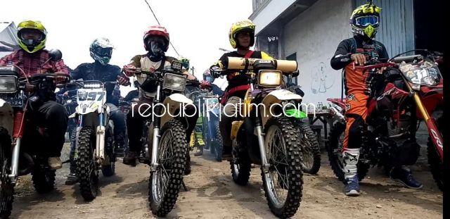 Selama Pandemi Covid-19 Libur Panjang, Komunitas Trail Jon Brothers Sidoarjo Reuni Trabas Bareng Jalur Trawas
