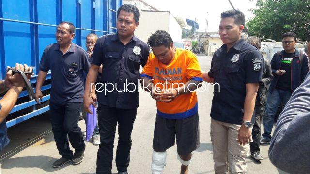 Pembunuh Nikko Seorang Residivis Kedua Kakinya Ditembak, Dipicu Suara Bleyer Motor