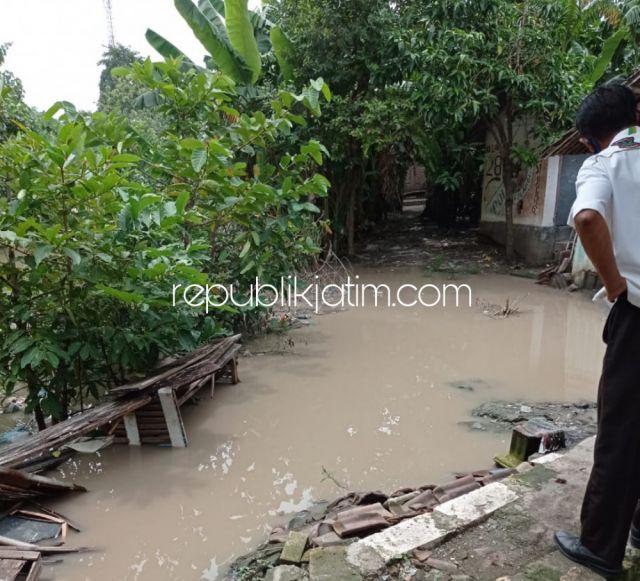 Sungai Kedunguling Tak Diplengseng, Warga RW 03 Temu Prambon Langganan Banjir Tiap Musim Hujan Sejak 2014