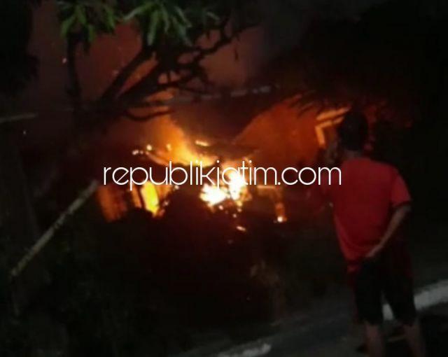 ODGJ di Ponorogo Rebus Air Hingga Merembet Membakar Rumahnya Gegerkan Warga