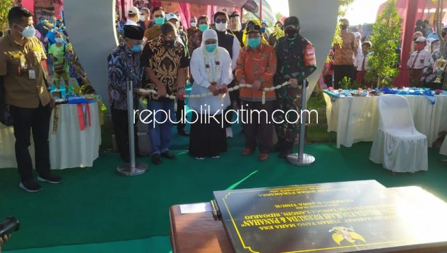Gubernur Jatim Resmikan Wisata Edukasi Berkuda dan Panahan di Sidoarjo