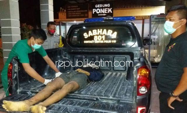 Diduga Ngantuk, Pemuda di Ponorogo Tewas Setelah Motornya Tabrak Tiang Reklame