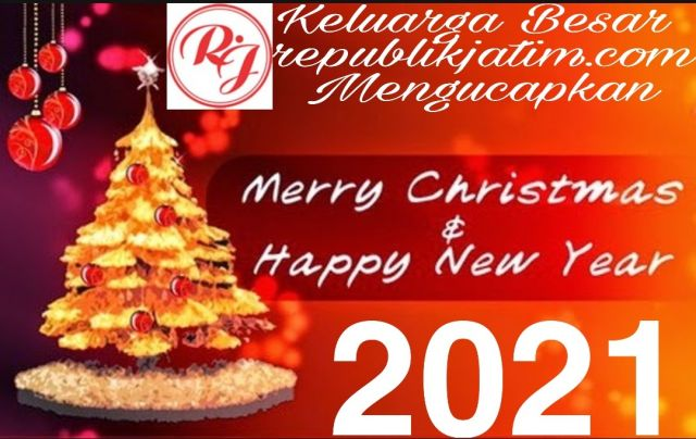 Pimpinan dan Manajemen republikjatim.com Mengucapkan Selamat Natal 2020 dan Tahun Baru 2021